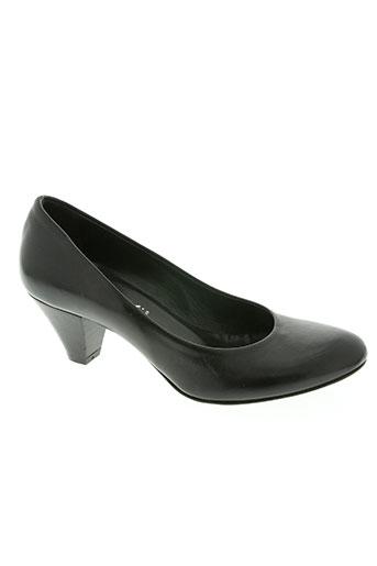 momenti chaussures femme de couleur noir