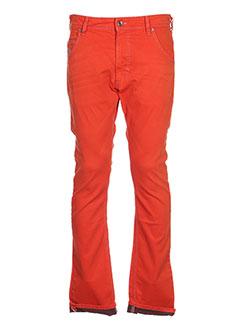 Pantalon casual orange DIESEL pour fille