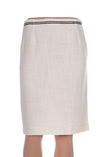 margot fontaine jupes femme de couleur blanc