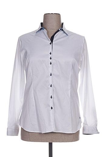 guapa collection chemises femme de couleur blanc