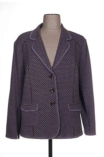 Veste chic / Blazer violet LUCIA pour femme