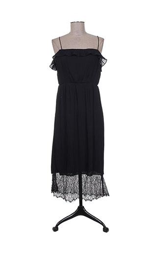 vila robes femme de couleur noir