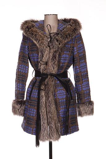 anton & moda manteaux femme de couleur violet