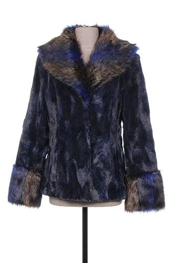 anton EFFI_CHAR_1 moda manteaux femme de couleur bleu
