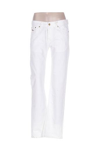 diesel jeans homme de couleur blanc