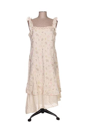 ddp robes femme de couleur beige