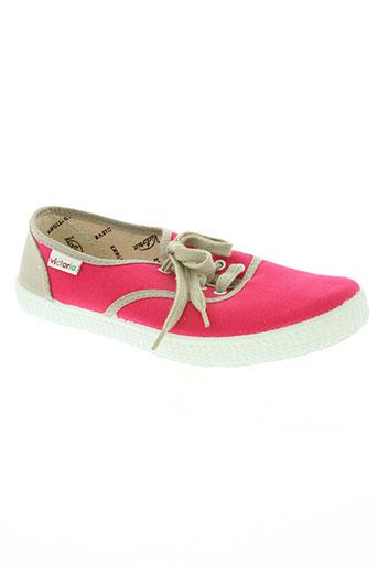 victoria chaussures femme de couleur rose