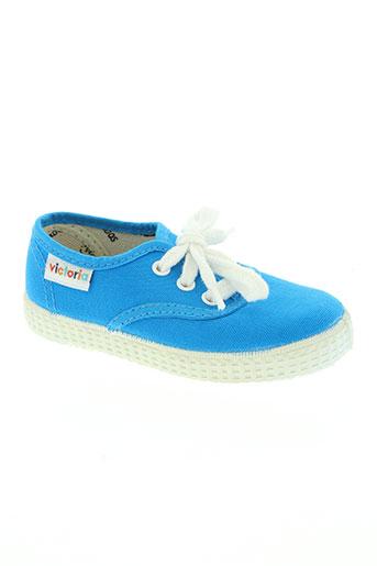 victoria chaussures enfant de couleur bleu
