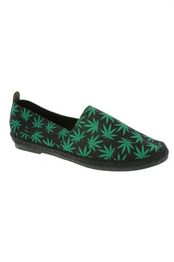 eleven paris chaussures homme de couleur vert