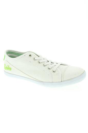 redskins chaussures homme de couleur blanc