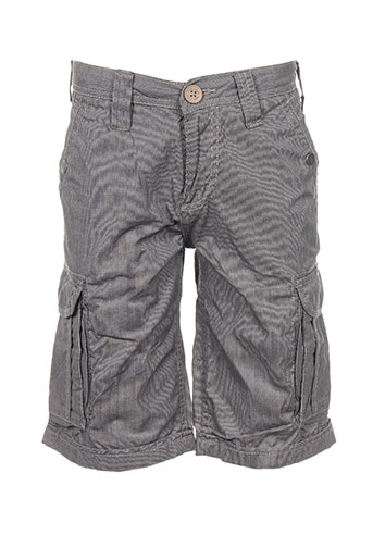 teddy smith shorts / bermudas garçon de couleur noir