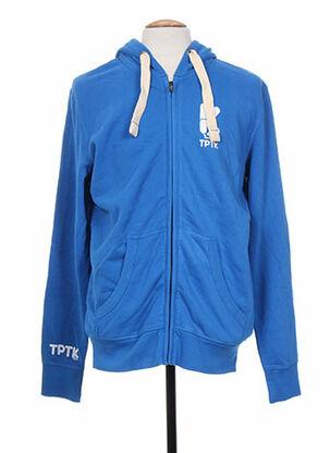 Veste casual bleu TPTK pour homme