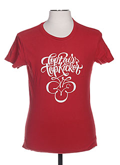 T-shirt manches courtes rouge TPTK pour homme