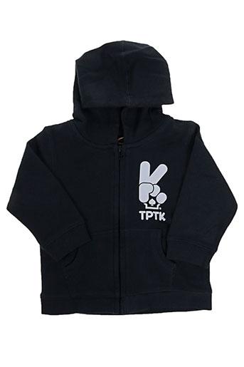 Veste casual noir TPTK pour enfant