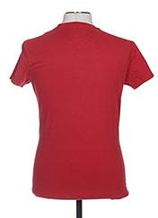 T-shirt manches courtes rouge TPTK pour homme seconde vue