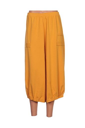 kokomarina pantacourts femme de couleur jaune