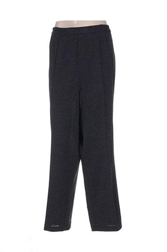 Pantalon casual gris FRANZISKA pour femme