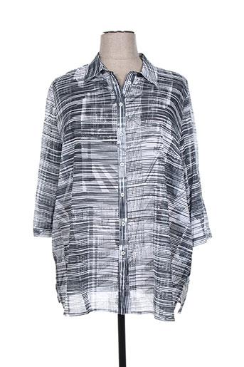 chalou chemises femme de couleur gris