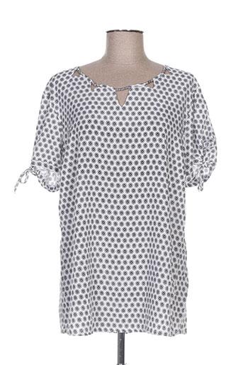 felino chemises femme de couleur gris