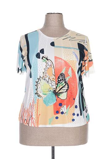 nayat t-shirts femme de couleur blanc
