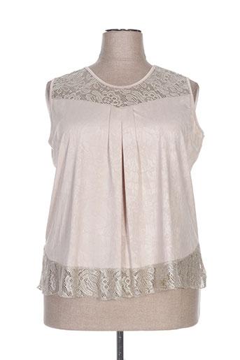 nayat t-shirts femme de couleur beige