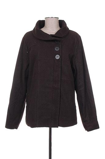 skunkfunk vestes femme de couleur marron
