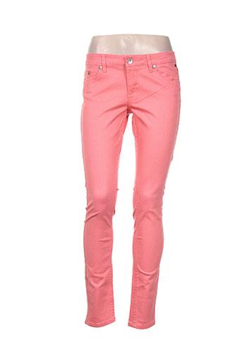 Pantalon casual rose ELEMENT pour femme