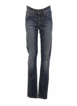 Jeans skinny bleu CARHARTT pour femme