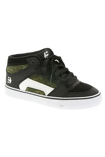 etnies chaussures garçon de couleur vert