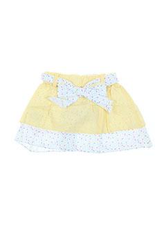 Jupe courte jaune BULLE DE BB pour fille