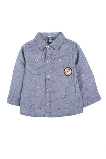 tuc tuc chemises garçon de couleur bleu