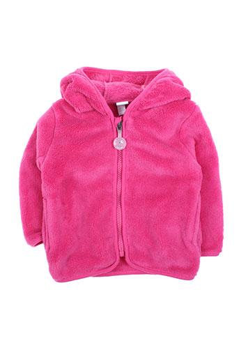 tuc tuc gilets fille de couleur rose