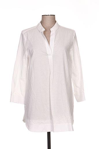 piazza sempione tuniques femme de couleur blanc