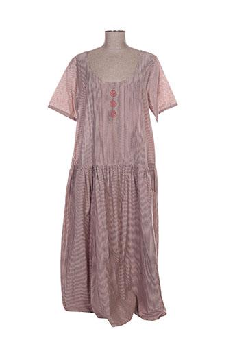 vintage poesy robes femme de couleur marron
