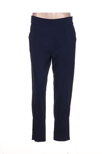 les piplett's pantalons femme de couleur bleu