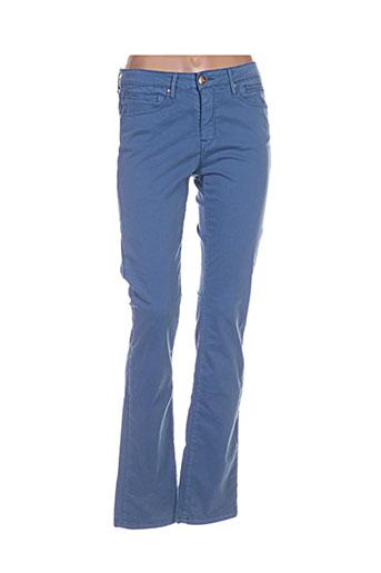 Pantalon casual bleu ISLOW pour femme