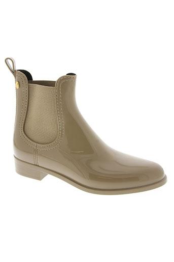 lemon jelly chaussures femme de couleur beige