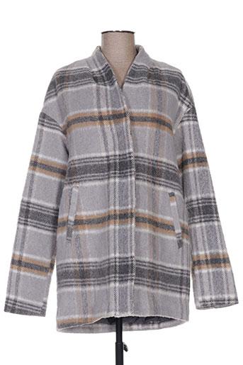 tiffosi manteaux femme de couleur gris