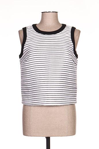 lucy & co t-shirts femme de couleur blanc