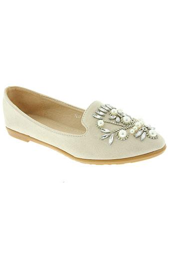 creamy moda chaussures femme de couleur beige