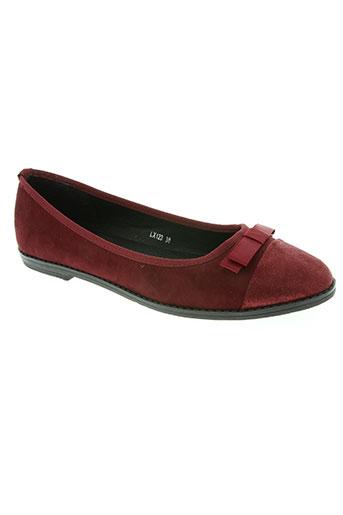 forever folie chaussures femme de couleur rouge