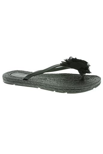 sixth sens chaussures femme de couleur noir