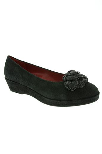 sanche de la rosa chaussures femme de couleur noir