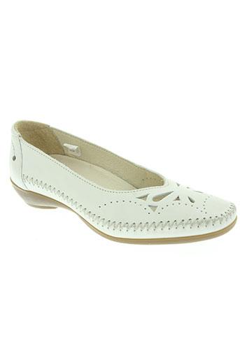 arima chaussures femme de couleur blanc