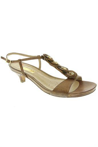 lodi chaussures femme de couleur marron