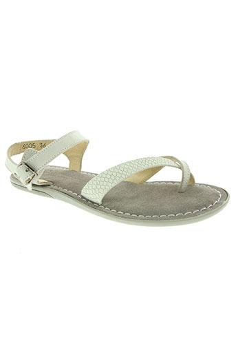 jungla chaussures femme de couleur gris