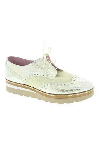 folie's chaussures femme de couleur beige