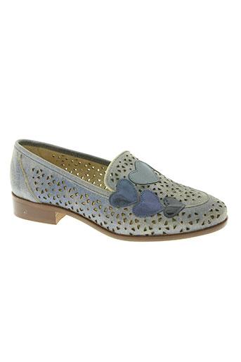 folie's chaussures femme de couleur bleu
