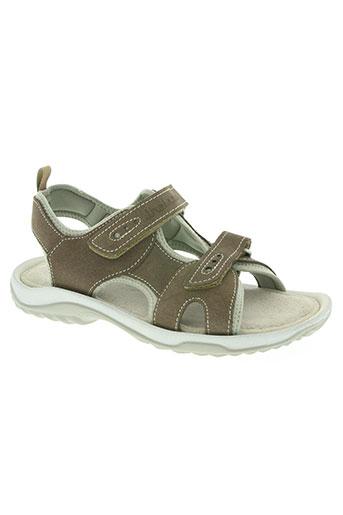 thalassa chaussures homme de couleur marron