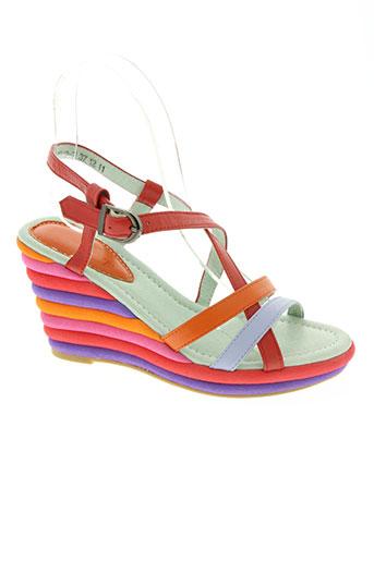 couleur pourpre chaussures femme de couleur rouge 22fbf63f053
